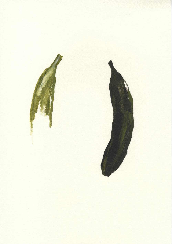 Libro de Petete para monos. Acrílico sobre papel. 42x29,7cm