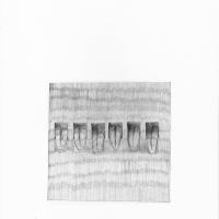 The Hole Tongue. Lápiz sobre papel. 42x29,7cm
