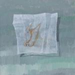 El Jabalín de la servilleta. Acrílico sobre lienzo. 34 x 27cm