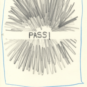PASS!!! Mixta sobre papel